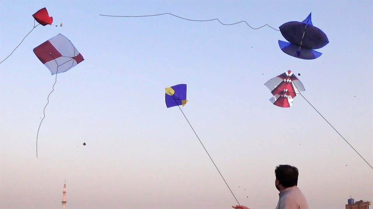 Patangbaazi on Summers - Kite Flying Moments - Flying Kites and paich 2021-GolgappaY Kites