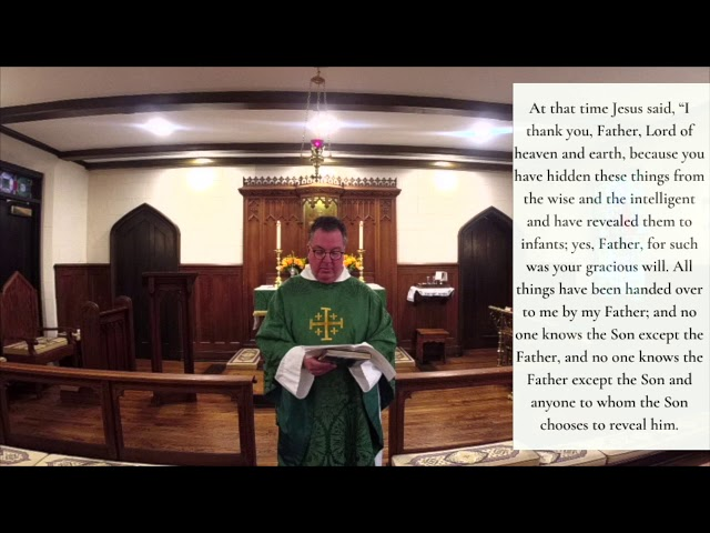 The Fifth Sunday after Pentecost 7.5.20