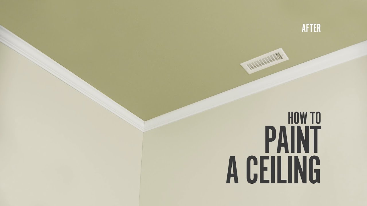How To Paint A Ceiling Expert Painting Advice Behr