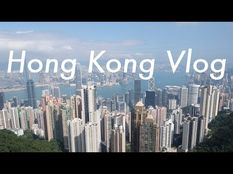 Hong Kong's Victoria Peak + Riding the Star Ferry | Travel Vlog