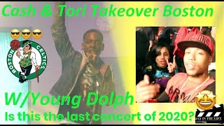 BOSTON VLOG|YOUNG DOLPH NO RULES TOUR LIVE IN CONCERT BOSTON MA ? BEFORE THE CORONAVIRUS OUTBREAK ?