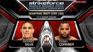 Antonio Silva vs Daniel Cormier