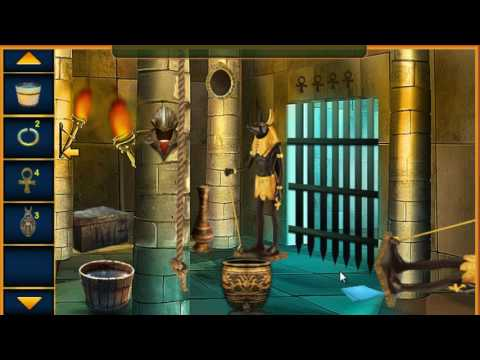 Ancient Egyptian Temple Escape Walk Through -FirstEscapeGames
