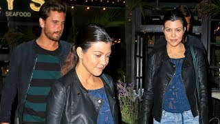 Kourtney Kardashian And Scott Disick Dine In Montecito After S…