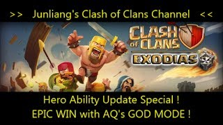 Clash of Clans- Hero Ability Update: EPIC WIN with Archer Queen's GOD MODE !
