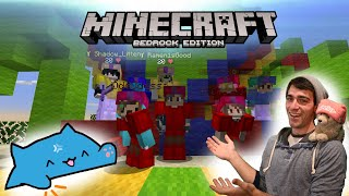Minecraft Livestream - Friday Hangout! [Bedrock Realms and Java Minigames with viewers!]