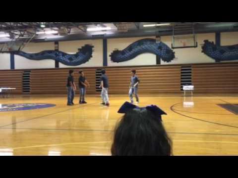 Stroman middle school hip hop team