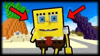 Jak přizvat SpongeBoba do hry Minecraft - SquarePants Mod cz/sk