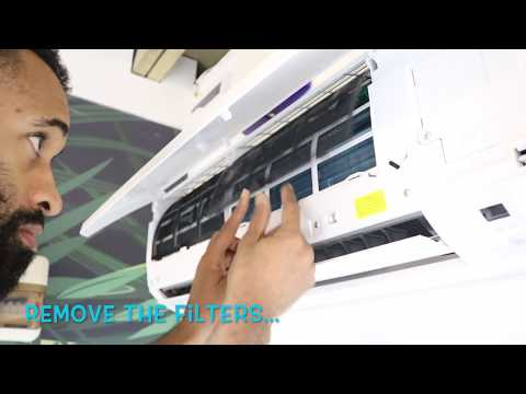 How to service a home air conditioner - Part 1