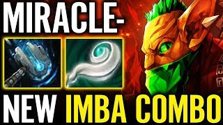 New EBOLA Combo by MIRACLE BH x Hammer x EuL  Best META EVAA Dota 2