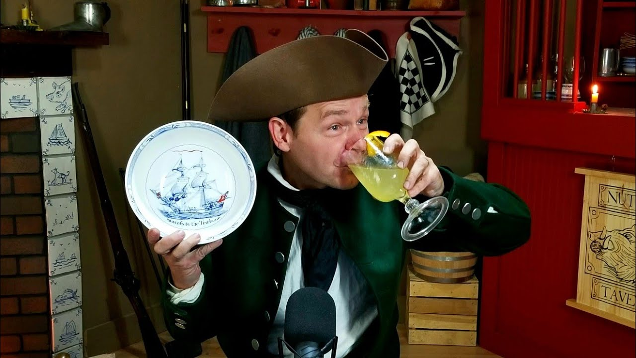 The 100th Livestream! 18th Century Lemonade! - Live From the Nutmeg Tavern!