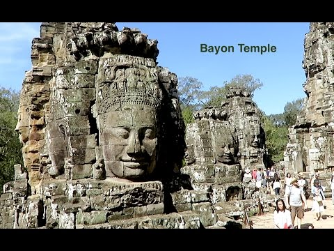 Visit Bayon Temple in Siem Reap province - Amazing Ancient Temple in Asia