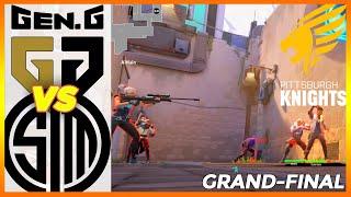 GRAND-FINAL! Gen.G vs TŠM HIGHLIGHTS - Knights Gauntlet Invitational Valorant