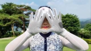12차 여름 여성 골프 장갑 매쉬&실리콘 골프장…