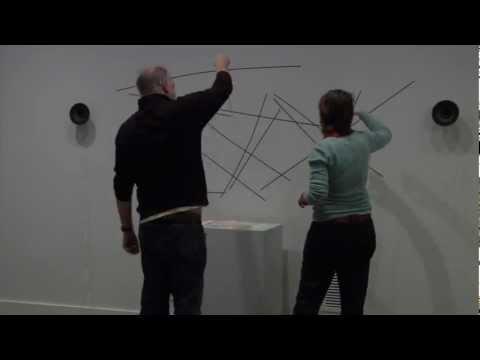 "Installing ""Random Access"" - Nam June Paik: Global Visionary - Time-lapse"