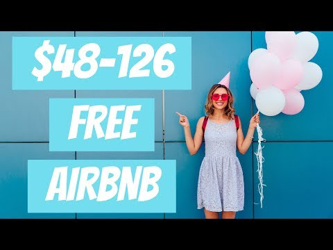 HOW TO GET $48-126 FREE AIRBNB CREDIT WITH 2020 PROMO CODE! 🏡