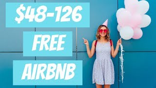 Gambar cover HOW TO GET $48-126 FREE AIRBNB CREDIT WITH 2020 PROMO CODE! 🏡