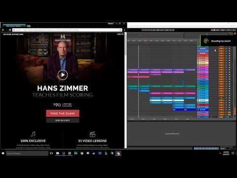 Hans Zimmer Masterclass - My Progress So Far (PART 1)