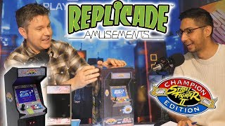 Street Fighter Replicade Unboxing! - Electric Playground Video