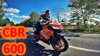 Honda CBR 600RR обзор и тест-драйв мотоцикла(МОЙ ВТОРОЙ КАНАЛ: http://www.youtube.com/channel/UCv1q8Rcs_UcNKJoiD_ZdKRg Наш Twitch: http://www.twitch.tv/andrey_scooterets Группа ..., 2016-09-02T18:34:43.000Z)