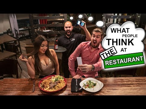 What People Think at the Restaurant   SweetSpotSquad