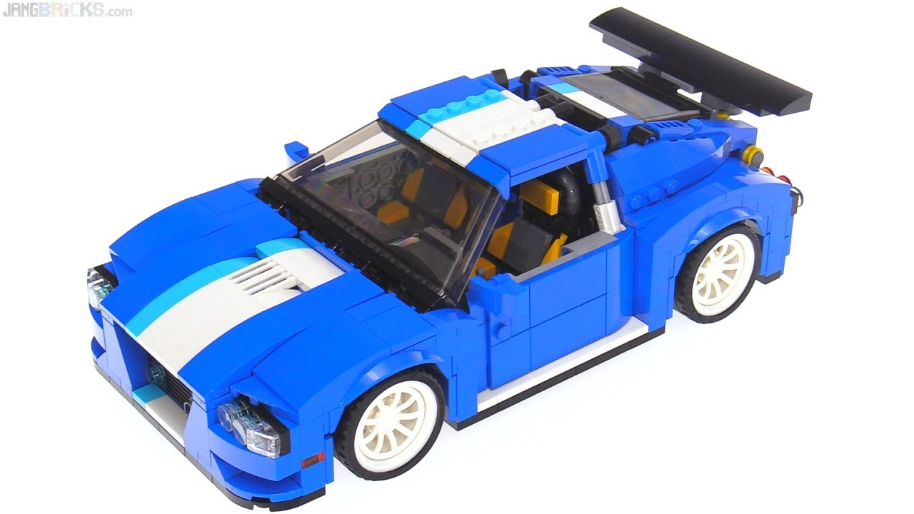 Lego Creator 3 In 1 Turbo Track Racer Review 31070 Youtube