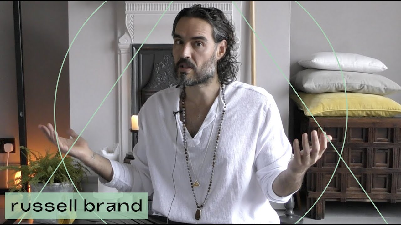Try This Kundalini Exercise To Feel More Present & Protected | Russell Brand