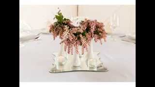 Diy- How To Set Up A Vintage Wedding Centrepiece Or Party Table Decoration