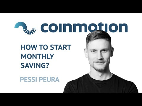 Monthly Cryptocurrency Savings Plan