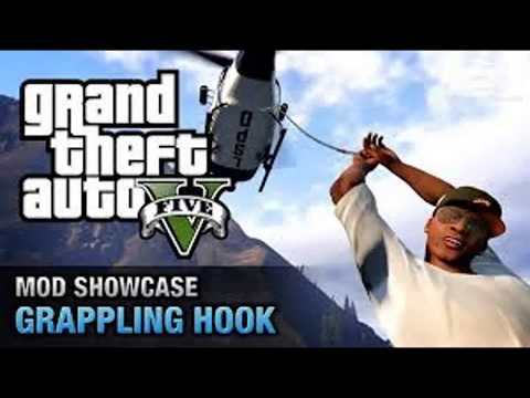 HOW TO DOWNLOAD FOR FREE GRAPPLING HOOK MOD FOR GTA 5 ( Mediafire Link in the description )