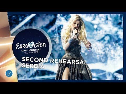 Serbia 🇷🇸 - Nevena Božović - Kruna - Exclusive Rehearsal Clip - Eurovision 2019