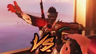 Troll D.Va VS Arrogant Genji - Overwatch Funny Moments 44