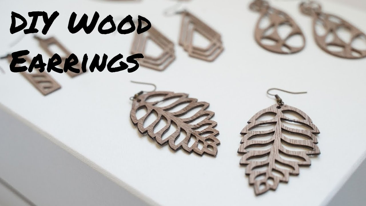 How To Make Wooden Earrings Domestic Heights