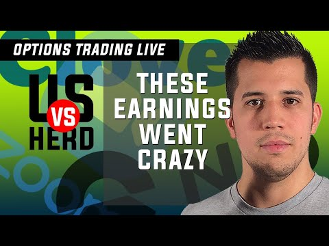 These Earnings Went Crazy - Options Trading Live - Stock Market Live GME