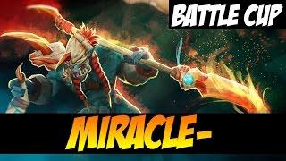 MIRACLE- BATTLECUP - Huskar - Dota 2