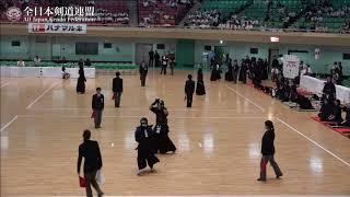 NARA vs MIE 10th All Japan Interprefecture Ladies KENDO Championship 2018 2nd Round