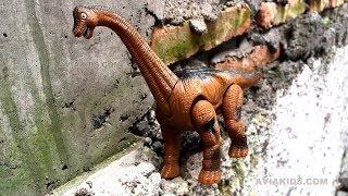 vuclip Mainan Dinosaurus Lucu untuk Anak anak