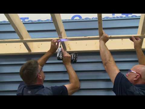 CertainTeed Soffit and Fascia Installation - YouTube