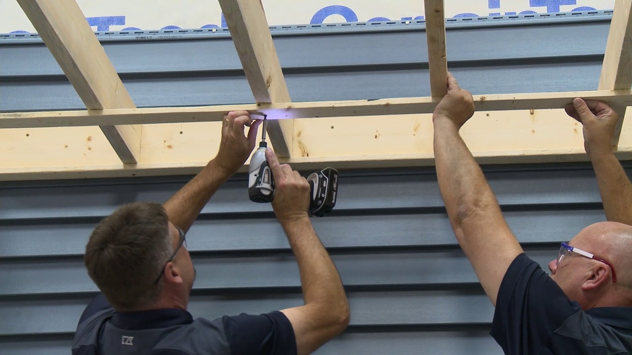 Certainteed Soffit And Fascia Installation Youtube
