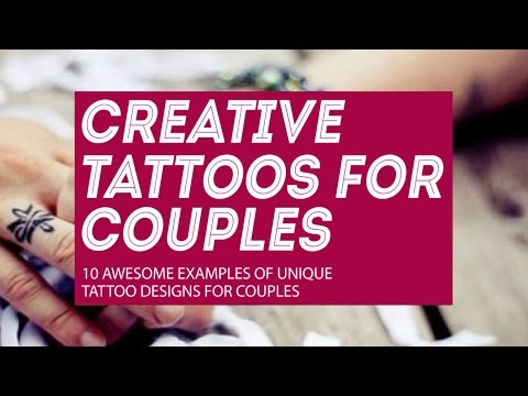Tattoos for couples: 10 creative tattoo designs for lovers/friends