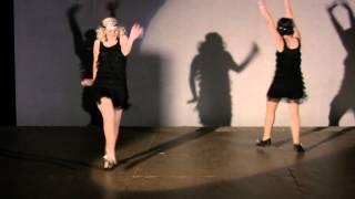 The Charleston ~ Mariangela & Nefeli~ Athens Lindy Hop ~Vaudeville Review 2012