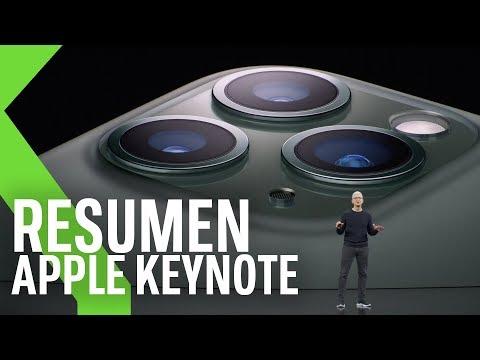 NUEVOS IPHONE 11, Apple WATCH 5, IPAD, Apple TV+ Y Más | Resumen Keynote Apple 2019