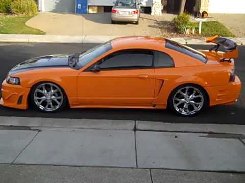 Arami Picazo Bagged 2002 Mustang Air Ride Clout Nine