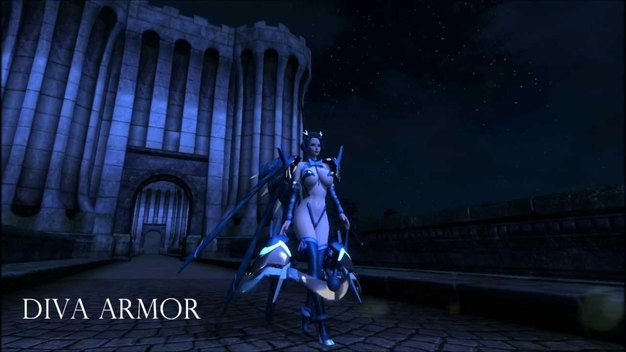 Oblivion Diva Armor (BBB) by TheOblivionsChild