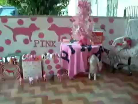 Victoria s secret pink decoration box dog christmas reno youtube