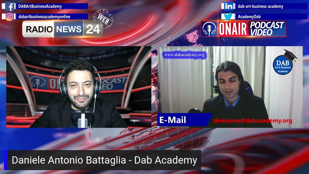 Intervista di Radio News 24 a Daniele Antonio Battaglia