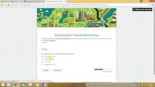 Uitleg toets maken in Google Forms