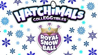 NEW Hatchimals CollEGGtibles Royal Snow Ball Season 6.5 Giant Surprise Box Challenge!!