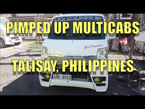 Pimped Up Multicabs, Talisay, Philippines.
