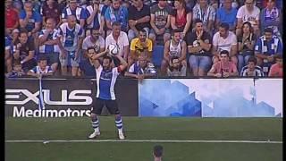 Narración gol de Dani Güiza y final Hércules 0 - Cádiz 1. Ascenso a Segunda (26-06-16)